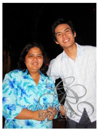 Christian Bautista in a taping shortly after winning 4th place in ABS-CBN's Star in a Million in 2003